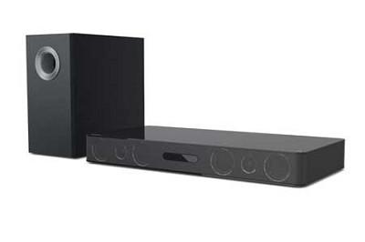 ABX3250 300W Audio Base with Wireless Subwoofer (Black)