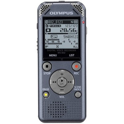 WS-802 - Digital Voice Recorder - Metallic Gray