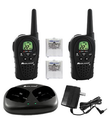 22 Channel GMRS Radio with Batteries and Charger - LXT340VP3