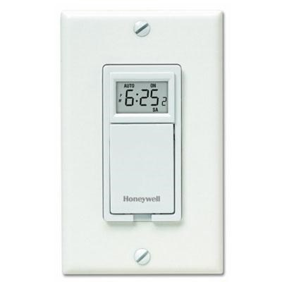 7-Day Programmable Light Switch Timer in White - RPLS730B1000/U