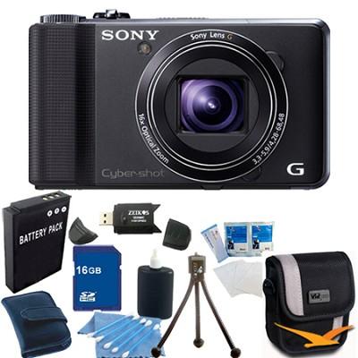 Cyber-shot DSC-HX9V Digital Camera 16GB Bundle