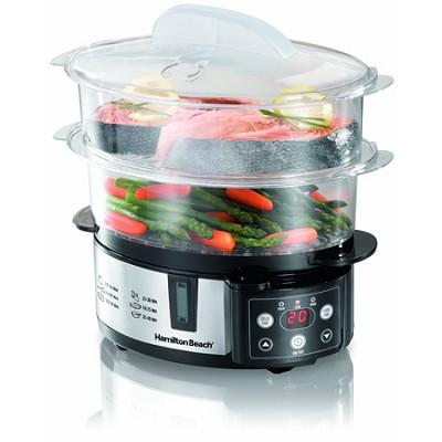 Digital Two-Tier Food Steamer (37537)