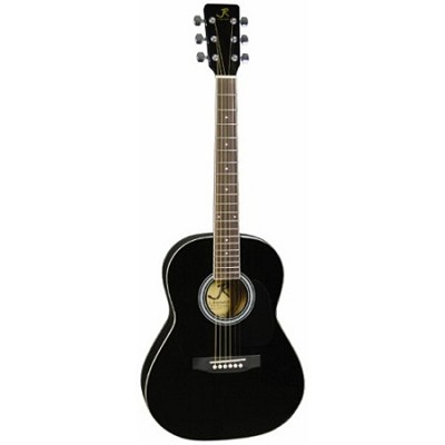 JR14BK 36-Inch Acoustic Guitar - Black - OPEN BOX