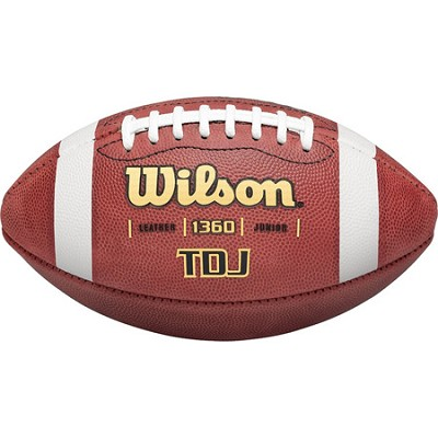Junior Leather Game Ball Football