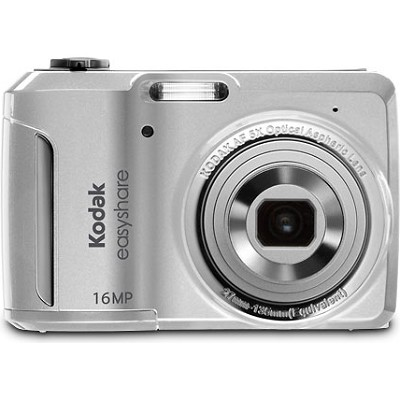 EasyShare C1550 16MP 5x Zoom 3.0 inch LCD Silver Digital Camera