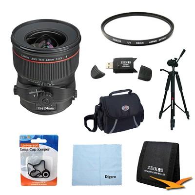 TS-E 24mm f/3.5L II Ultra-Wide Tilt-Shift Manual Focus Lens Exclusive Pro Kit