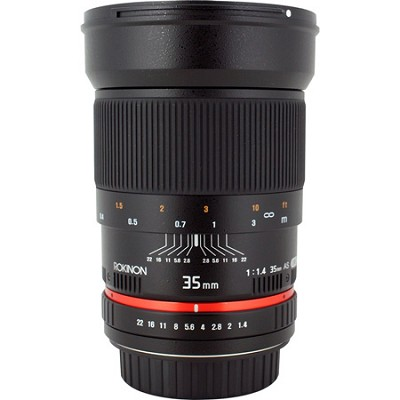 35mm f1.4 Photo Lens for Sony E-Mount