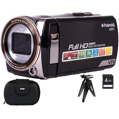 Polaroid iD975 Dual Shot Video Camera 8GB Accessory Bundle