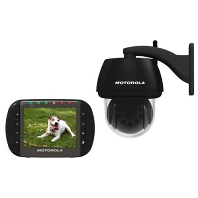 Scout1100 Wireless Pan/Tilt /Zoom Video Pet Camera and Monitor w/ Night Vision