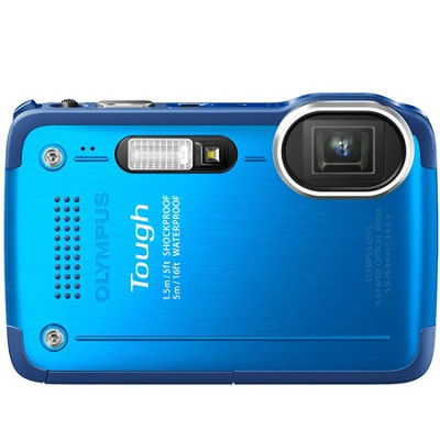 STYLUS TG-630 12MP 3-inch LCD 1080p HD Digital Camera - Blue