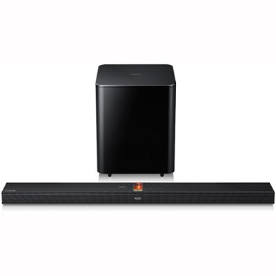 HW-F750 - 2.1-ch Wireless Hybrid Amp Soundbar w/ Wireless Subwoofer & Bluetooth