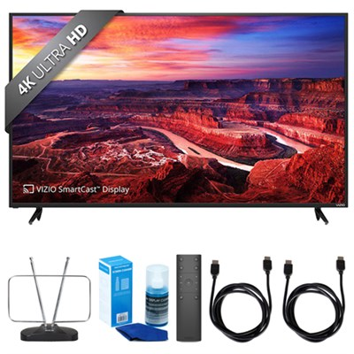 SmartCast E-Series 60` Class Ultra HD - E60-E3  w/ TV Cut the Cord Bundle