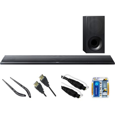 Stylish 4K WiFi 2.1Ch Sound Bar w/ B.tooth & HDR Support HT-CT790 w/ Bracket Kit