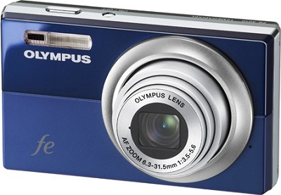 FE-5010 12MP 2.7` LCD Digital Camera (Blue) - REFURBISHED