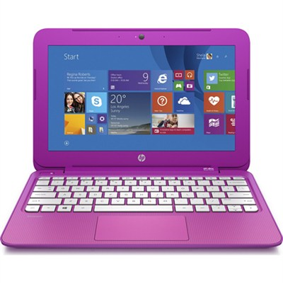 Stream 13 Laptop w/ Free Office 365 Personal for 1Year-Orchid Magenta OPEN BOX