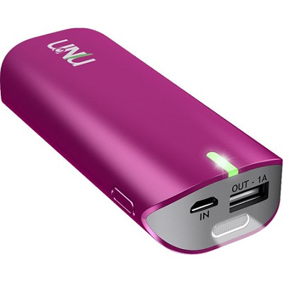 Enerpak Tube 5000mAh USB External Battery Pack - Pink