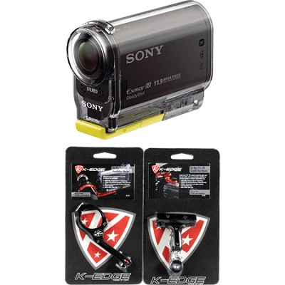 HDR-AS30V Action Cam with K-Edge Bicycle Mounts