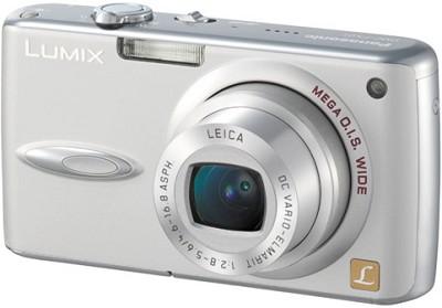 DMC-FX01 (Silver) Lumix 6 Megapixel Digital Camera - REFURBISHED