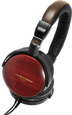 ATH-ESW9A Portable Wooden Headphones