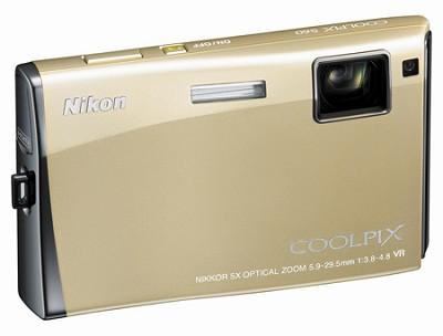 Coolpix S60 Digital Camera (Platinum Bronze)
