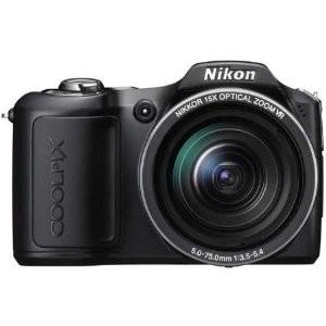 COOLPIX L100 10MP Digital Camera (Matte Black) Refurbished