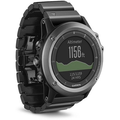 fenix 3 Multisport Training GPS Watch - Sapphire