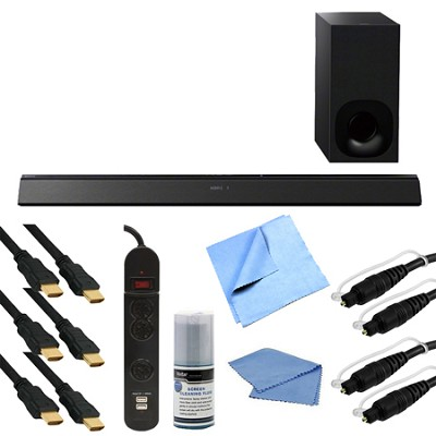 HT-CT780 2.1 Channel Sound Bar with Wireless Subwoofer Bundle