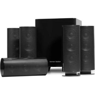 HKTS 30BQ 5.1 Home Theater Speaker System (Black)