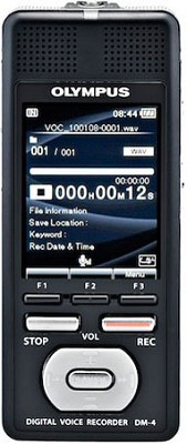 DM-4 Recorder w/ Battery 2000 Hrs of Recording w/ 8GB Memory 2.2` Color Screen