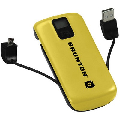Metal 4400 mAh, 3x Charges (Yellow) - F-METAL-YL