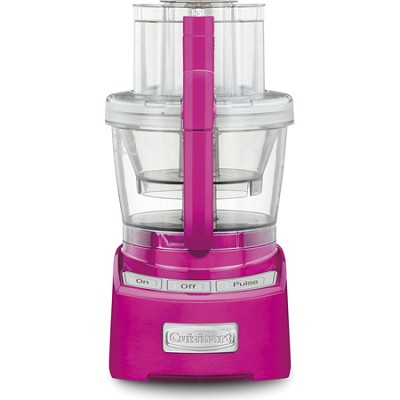 Elite Collection 12 Cup Food Processor (Metallic Pink)