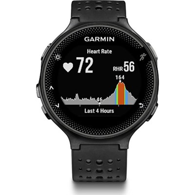 Forerunner 235 GPS Sport Watch with Wrist-Based Heart Rate Monitor - Black/Gray