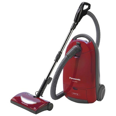 MC-CG902 - Canister Vacuum Cleaner, Burgundy Finish - OPEN BOX