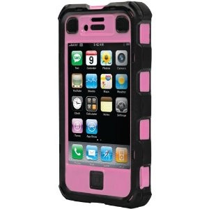 iPhone 4/4S Ballistic Hard Core (HC) Series Case - Black/Pink