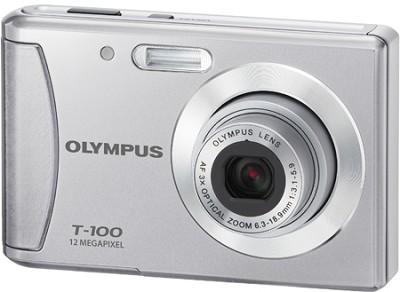 T-100 12MP 2.4` LCD Digital Camera (Silver)