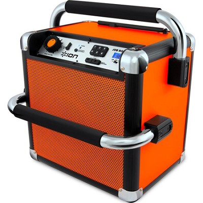 Job Rocker Plus Bluetooth Portable Jobsite Sound System Orange