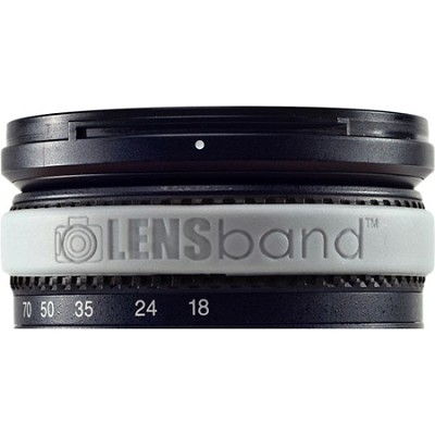 Stop Zoom Creep for One Size Fits All Lens - Silver