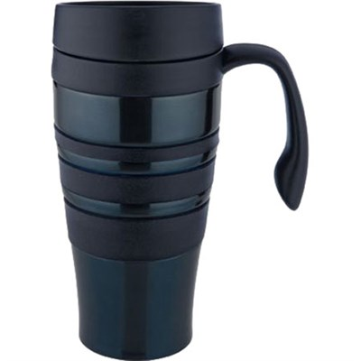 14-Ounce Bliss Thermal Bliss Stainless Steel Travel Mug, Blue