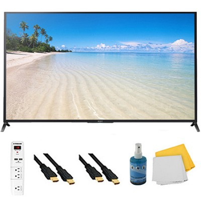 60` 1080p 120Hz Smart 3D LED HDTV Plus Hook-Up Bundle - KDL60W850B