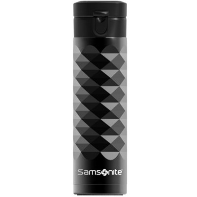 Stainless Steel 16 oz. Travel Mug Diamond Series - Black