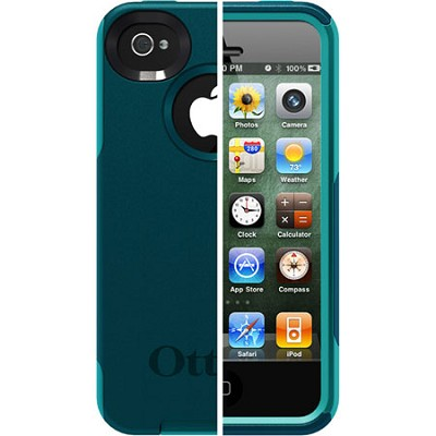 OB iPhone 4S Commuter - Deep Teal PC / Light Teal