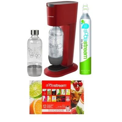 GENESIS Home Soda Maker Starter Kit - Red