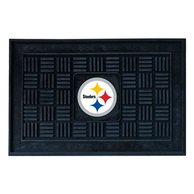 NFL Pittsburgh Steelers Vinyl Heavy Duty Door Mat
