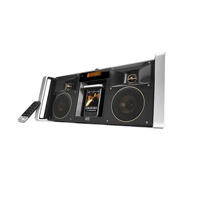 nMotion MIX iMT800 Portable Digital Boom Box for iPhone and iPod