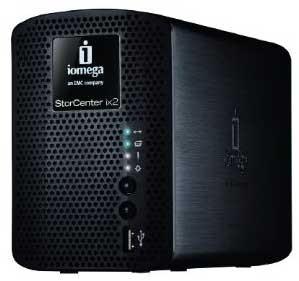 StorCenter ix2-200 - 2 TB Network Attached Storage 34481 (Black)