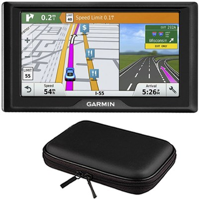 Drive 60LMT GPS Navigator (US and Canada) - 010-01533-06 with GPS Bundle
