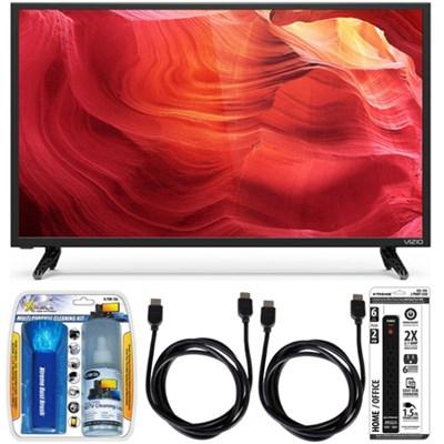 E50-D1 - 50-Inch 120Hz SmartCast LED Smart 1080p HDTV Essential Accessory Bundle