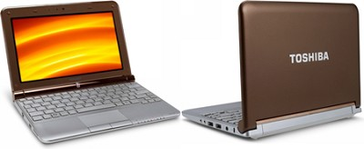 NB305-N440BN 10.1-Inch Java Brown Netbook