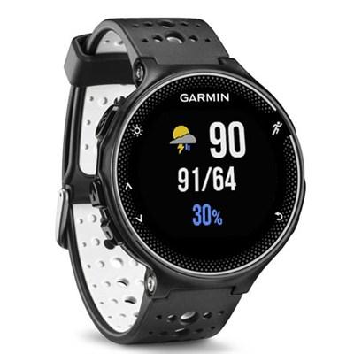 Forerunner 230 GPS Running Watch, Black and White