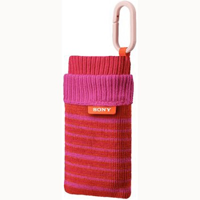 LCS-CSZ/P - Sock-like Case (Striped - Pink)